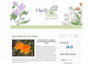 National Herb Week