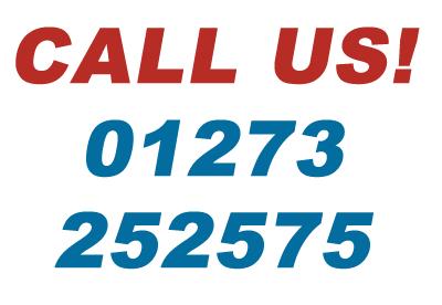Call Us 01273 252575