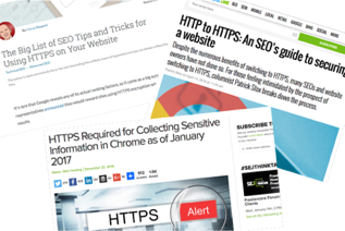 https SSL certificate SEO