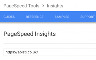 google page speed insights guide