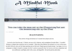 A Mindful Monk