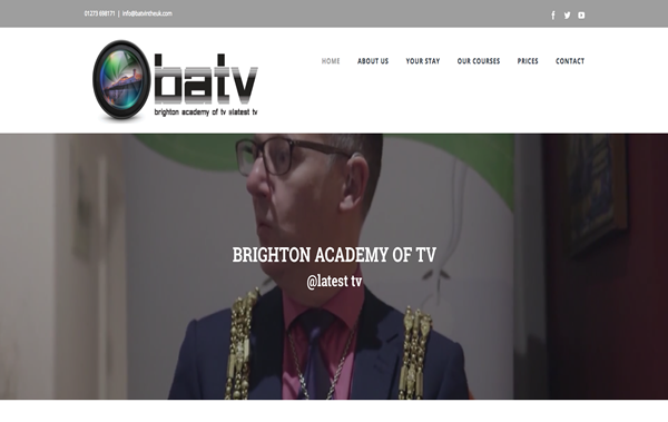 BATV Brighton Website Design