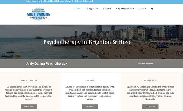 Andy Darling Psychotherapy Brighton and Hove